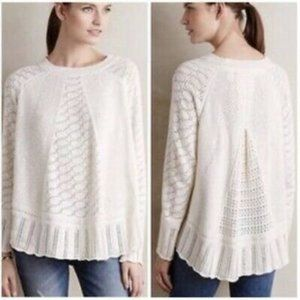 Anthropologie Angel of the North Nulia Sweater M/L